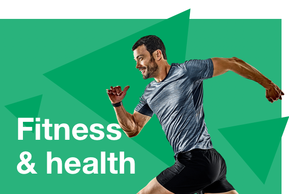 Fitness, health and wellbeing Image