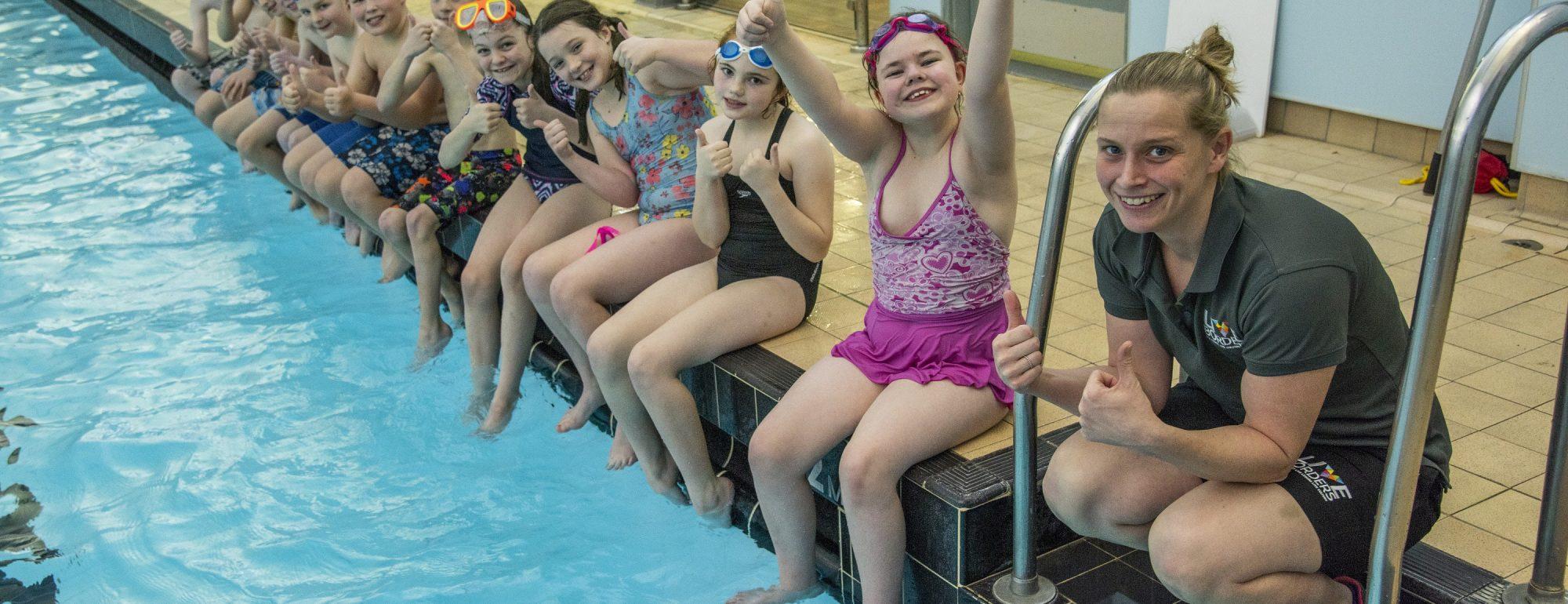 Live BordersSchool swimming classes.