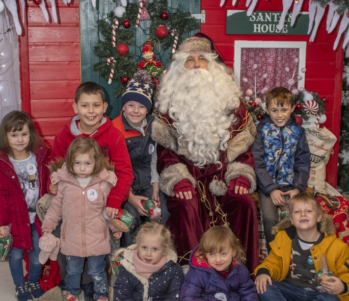 Santa's coming to Harestanes Image