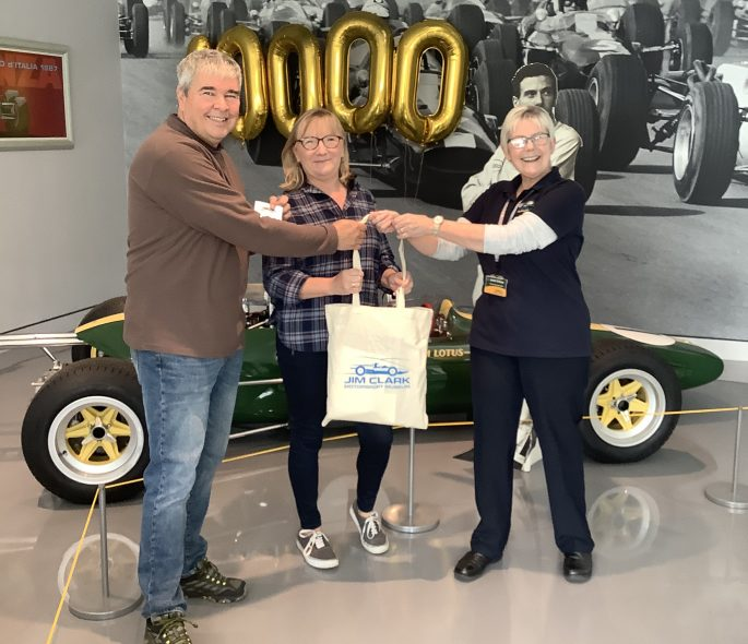 Jim Clark Motorsport Museum welcomes 10,000th fans Image