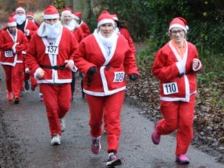 Festive Fun: Santa's Fun Run & Family Walk 2019 Image