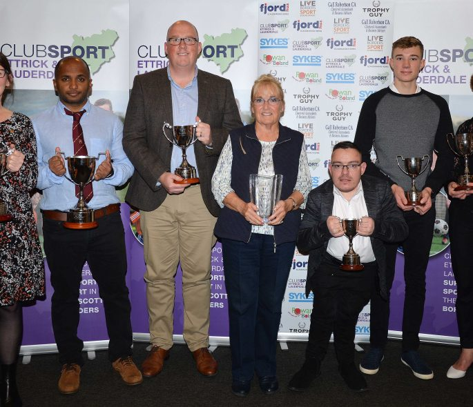 Local sports people recognised at Ettrick & Lauderdale Awards Image
