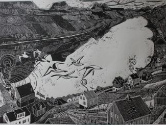 Lino Print Workshop with Neil Stewart Image